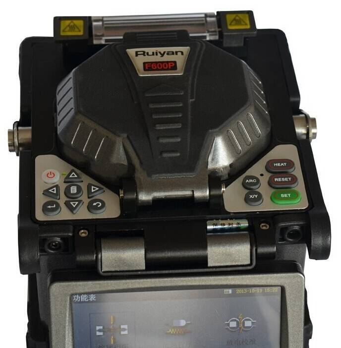 Removable Fiber Fusion Splicer RY-F600 Special Design for FTTX Application Precise and Fast Fusing