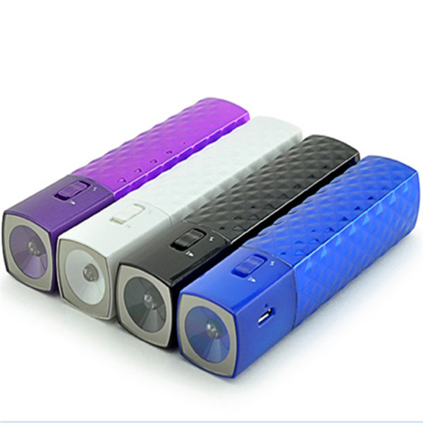 Power Bank with LED Torchlight 2600mah