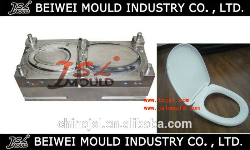 Custom Plastic Toilet Seat&Cover Injection Mould