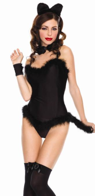 high quality sexy lady cat woman costume lingerie