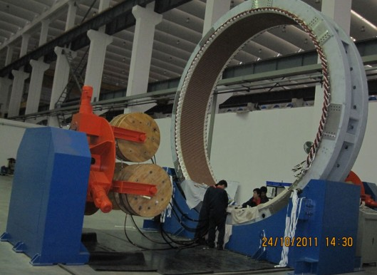 Wind Power Stator Wound Rotator with Copper Uncoiling