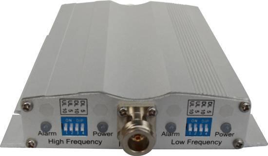 10dBm dual system mini repeater
