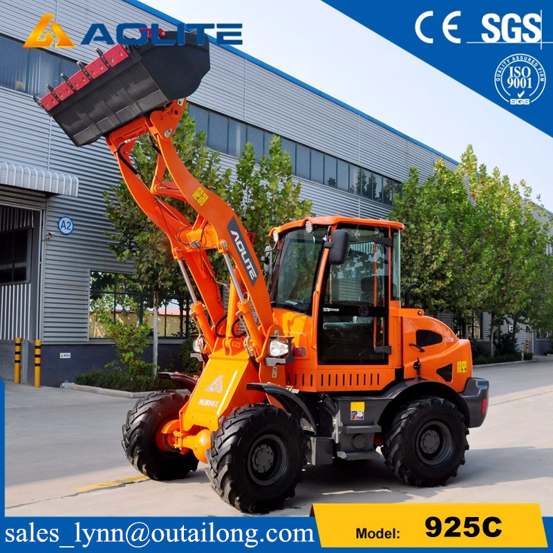 Europe type articulated hydraulic small wheel loader 925C with low prices for sale