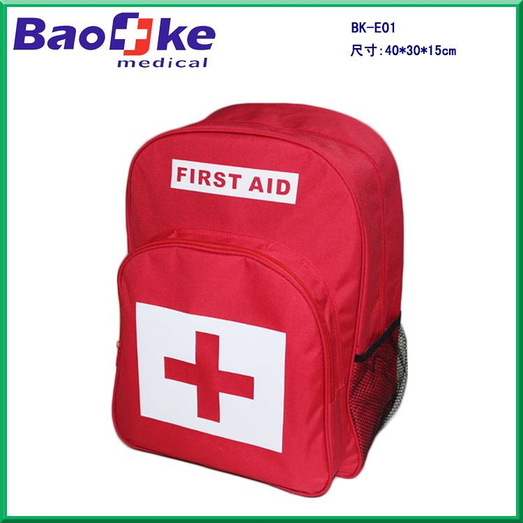 All purpose emergecny first aid kit with medical and emergency survival supplies
