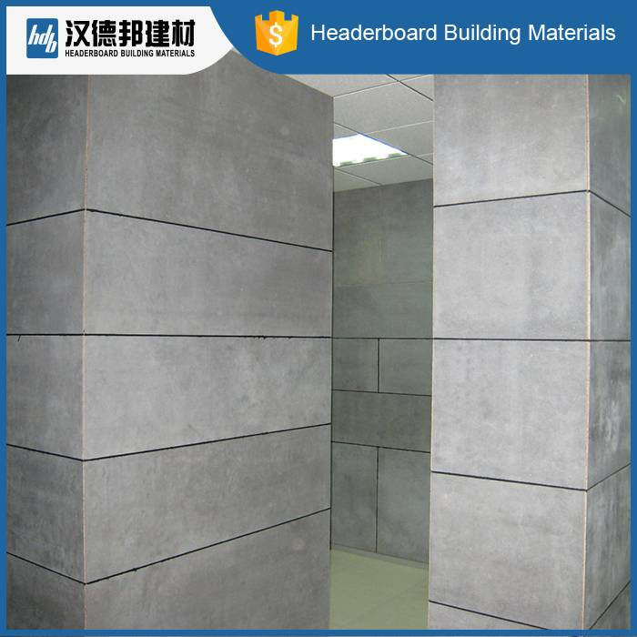 High quality fireproof Fiber cement board price 100% non asbestos walling