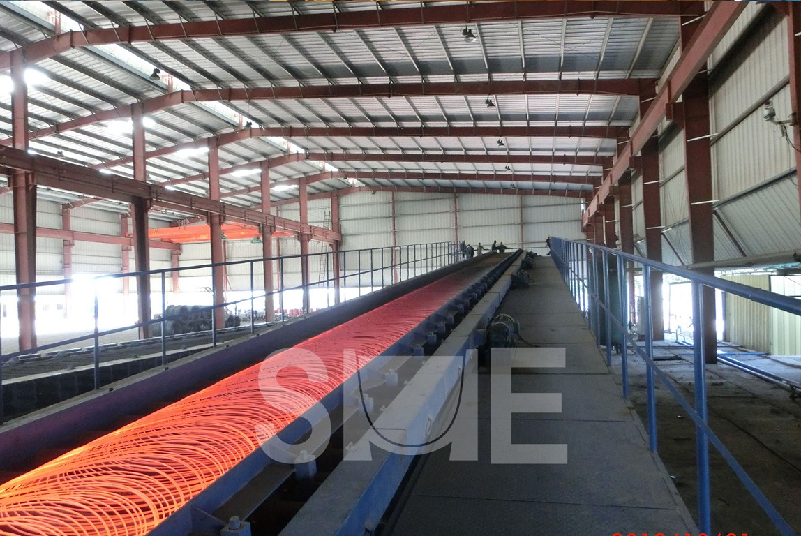 Wire rod production line/ Complete wire rod rolling mill