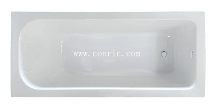 Hangzhou corner rectangular acrylic drop-in bathtub