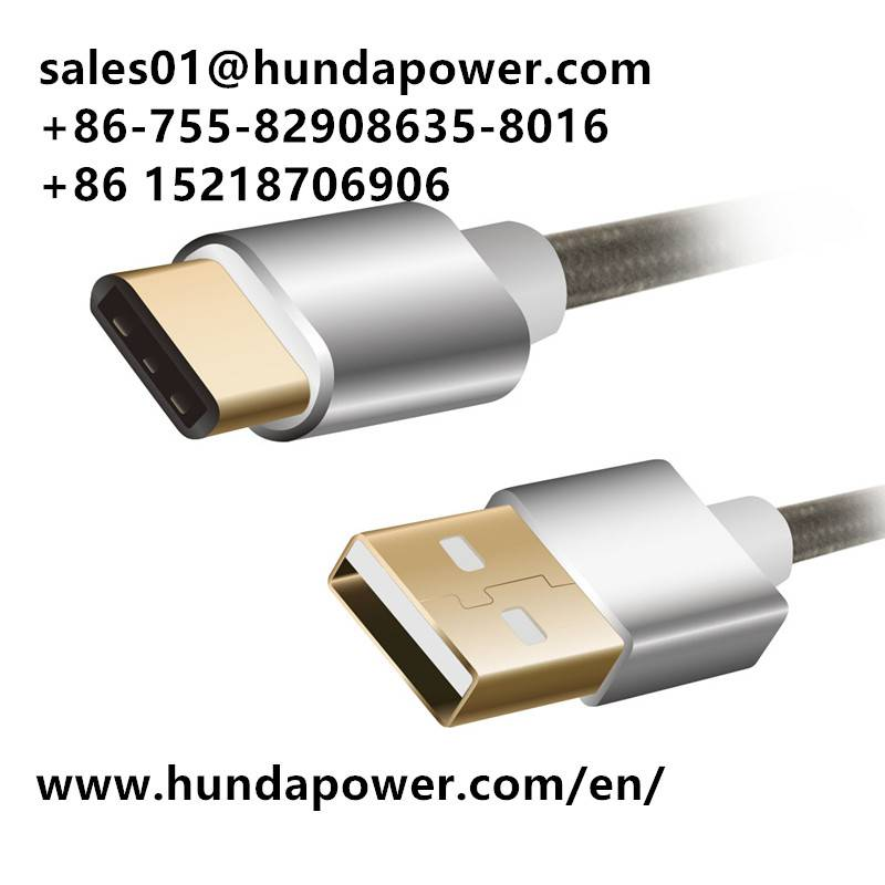 1m reversible 10gbps usb2.0 to typec cable