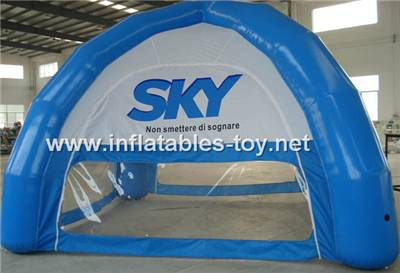 Inflatable Spider Dome Inflatable Tent for Car Shelter Show