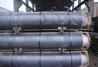 High density RP grade graphite electrode for steel mill