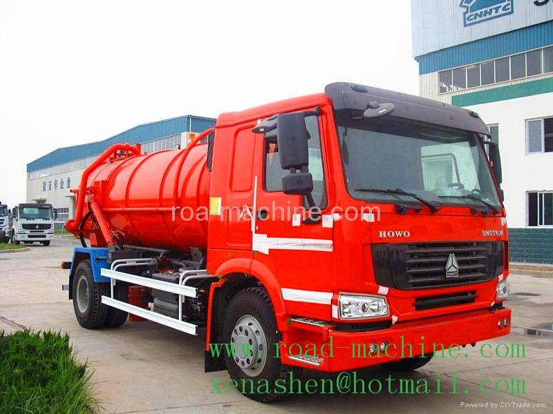 HOT SALE SINOTRUK HOWO 10M3 GARBAGE SUCTION TRUCK hot sale
