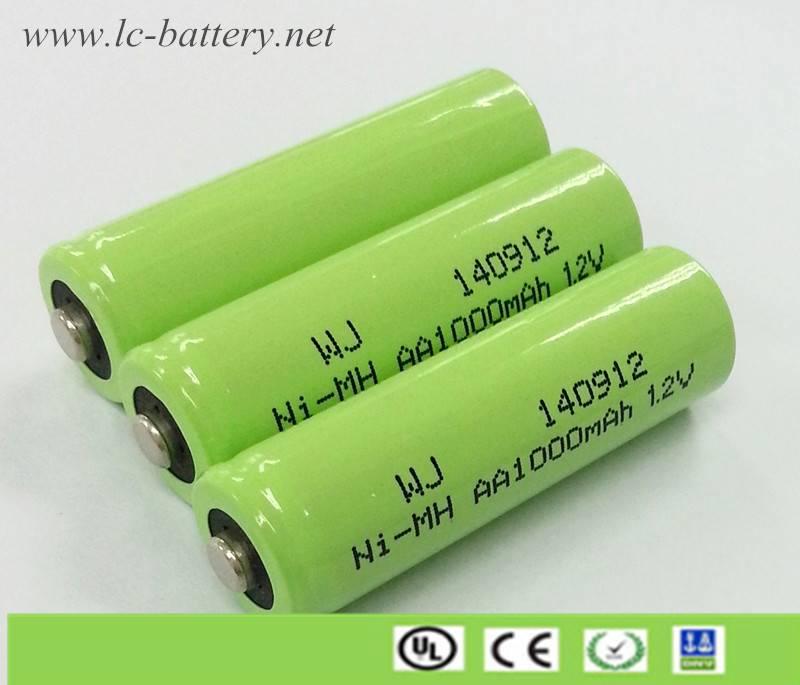 AA/AAA Long Life Ni-MH rechargeable Battery 600mAh-2100mAh