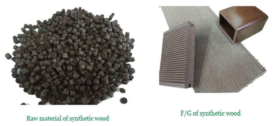 Synthetic wood
