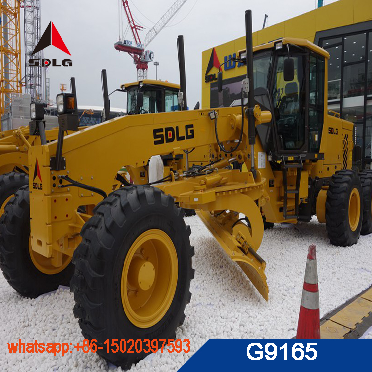 SDLG operating weight 14T motor grader G9165 with best quality for sale