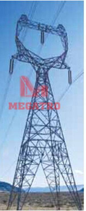 Delta tower for Power transmision project