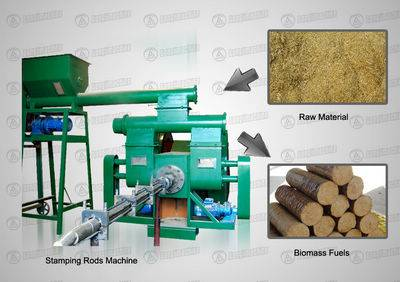 Stamping Rods Machine
