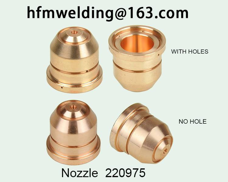 105A-125A.Nozzle 220975 for HYPERTHERM power max 1650,plasma cuting welding