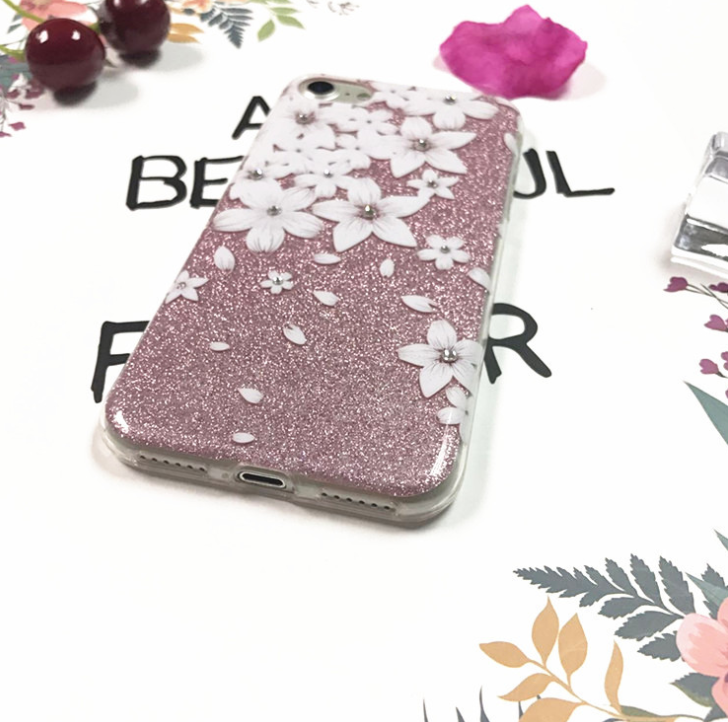 Diamand Dustproof Shockpoof Mobile Phone Cover for iphone 7 Shell