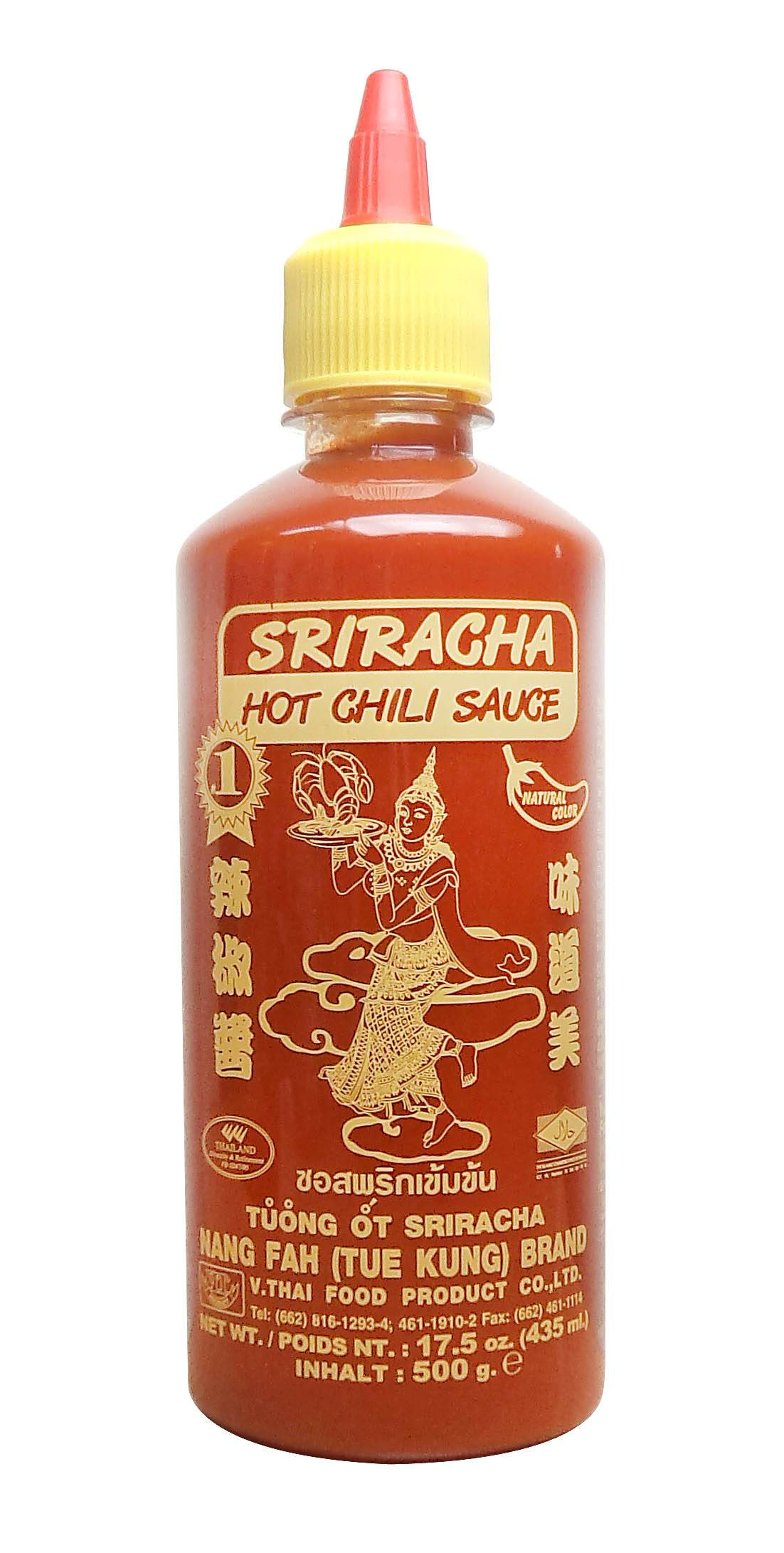 Thai Sriracha hot chili sauce