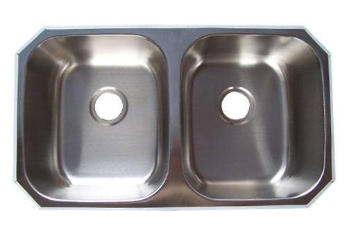 8247A Double Bowls Stainless Steel Undermount sink
