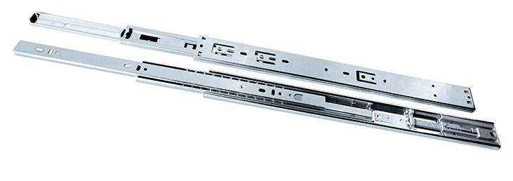 45MM  4513 Full Extension Ball Bearing Drawer Slide,Push open Type