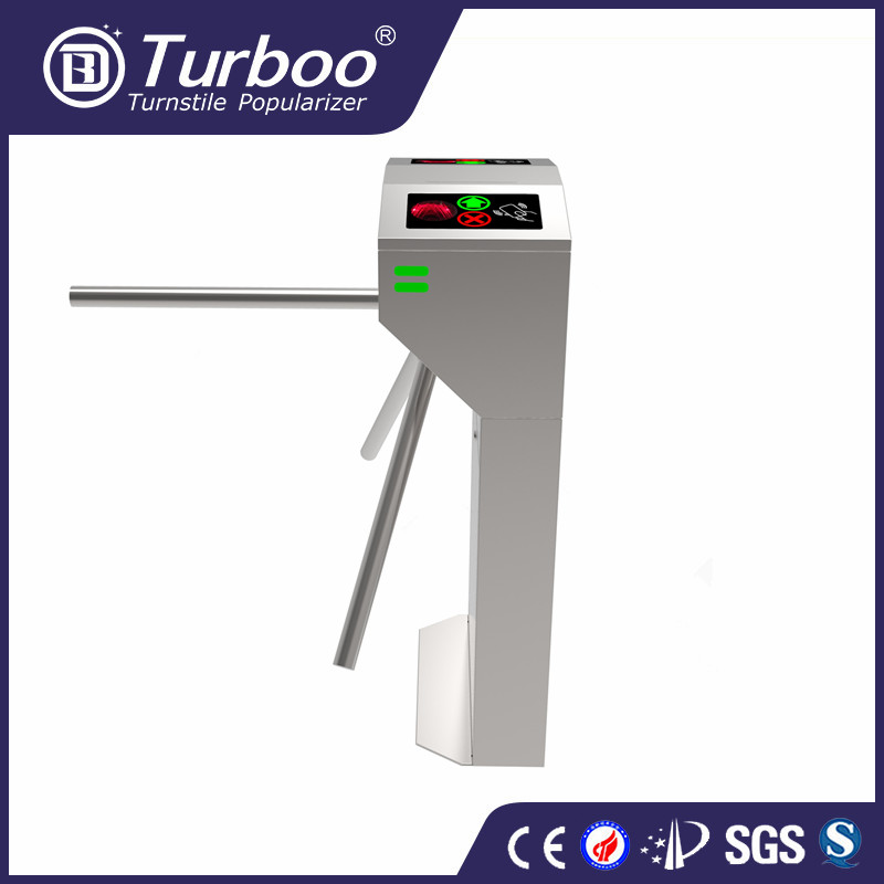Turboo HL145:tripod turnstile with finger print system,barrer gate with low price