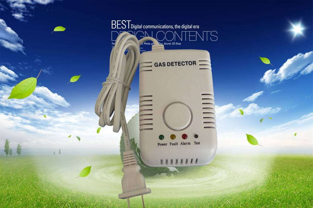 Home gas leaking detector with high quality