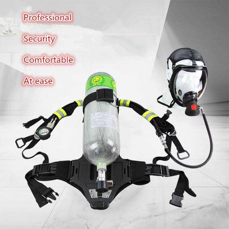RHZK 6.8L 30Mpa Positive Pressure carbon fiber cylinder SCBA (Self Contained Breathing Apparatus) Fo