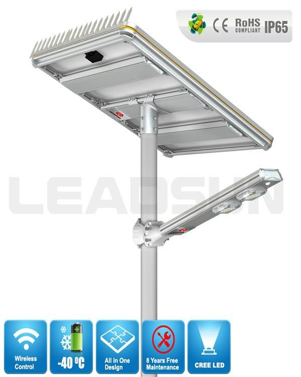 AE5 120w solar lamp Outdoor cheap integrated solar led street light , all in one design solar LE