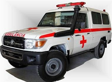 Toyota Land Cruiser Ambulance Grade 1 4×4