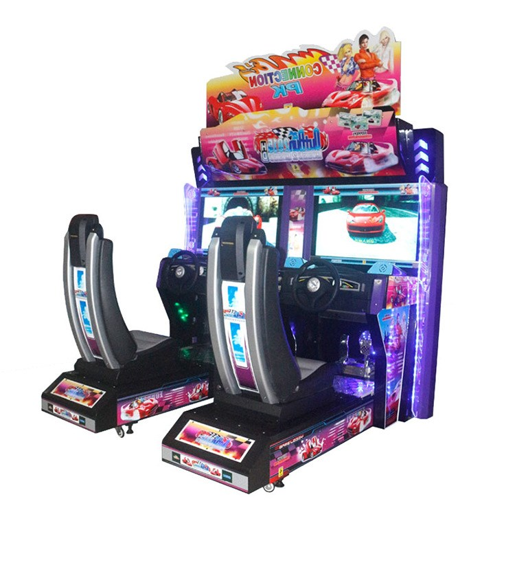 2 Players Simulator Racing Game Machines Outrun 2017 New Connection PK Driving Arcade Race Game