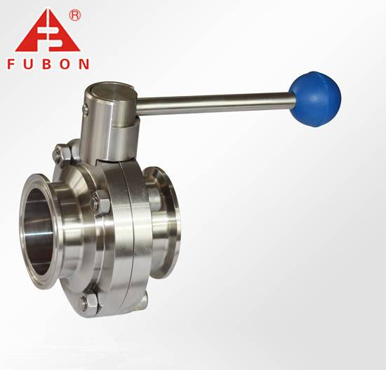 sanitatry butterfly valves stainless steel