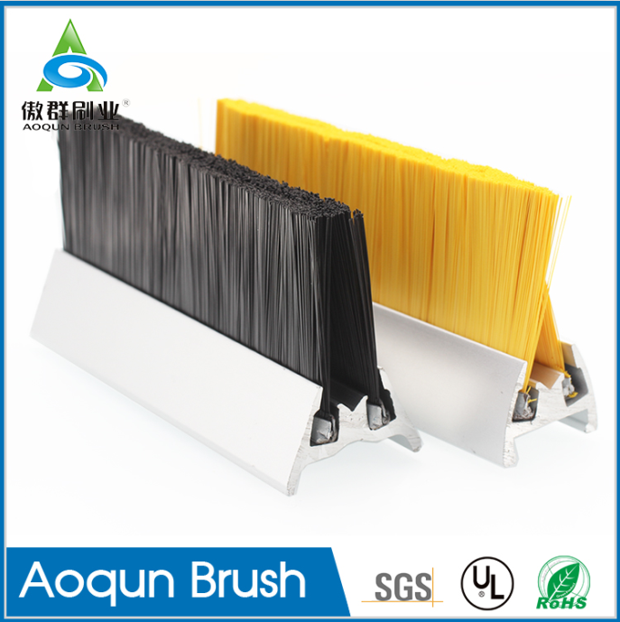 Aluminum Escalator Skirt Brush