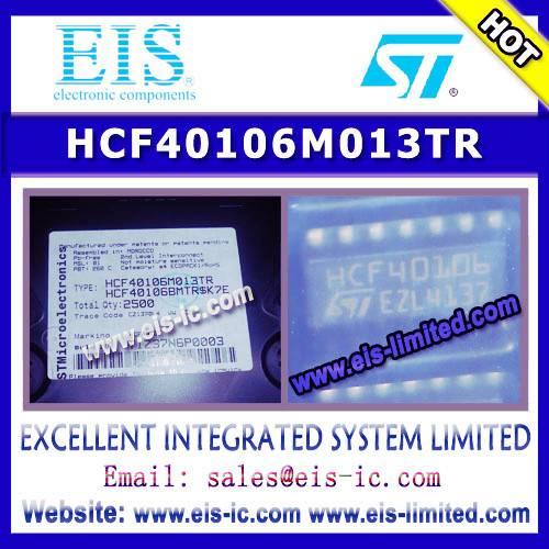 HCF40106M013TR - ST - HEX SCHMITT TRIGGERS