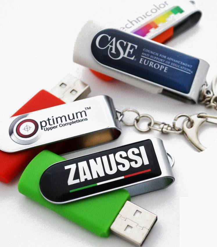 Promotional Bulk 1GB USB Flash Drives Swivel Original USB Flash Drive