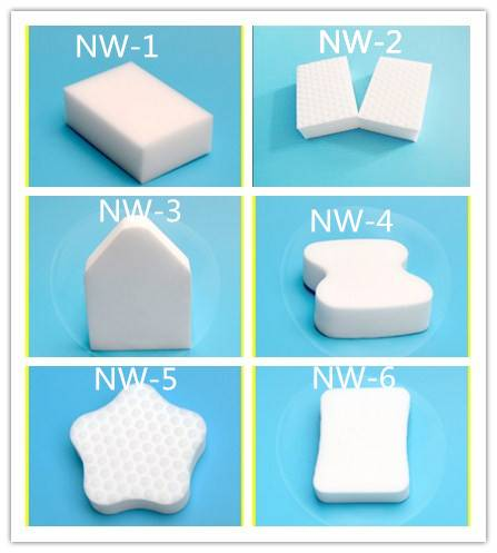 melamine sponge//magic eraser//new type scouring pad