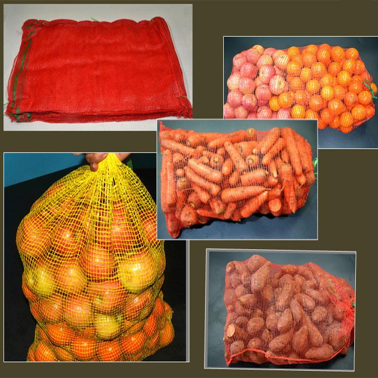 pp leno vegetable fruits mesh net packaging bags