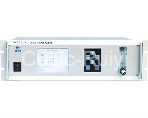 Flue gas analyzer / concentration / continuous / infrared Gasboard 3000