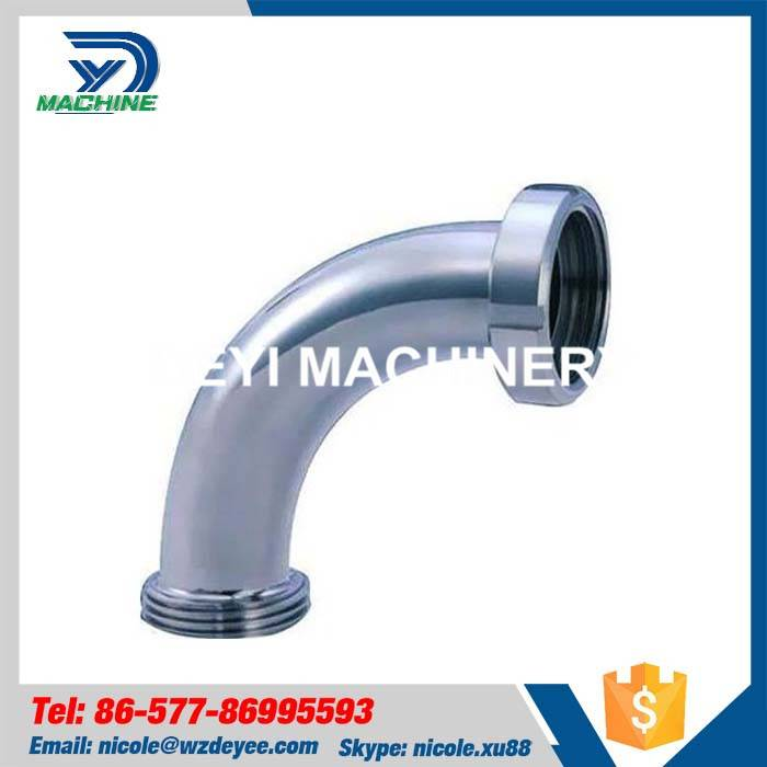 Stainless Steel Sanitary Threading Bend Elbow
