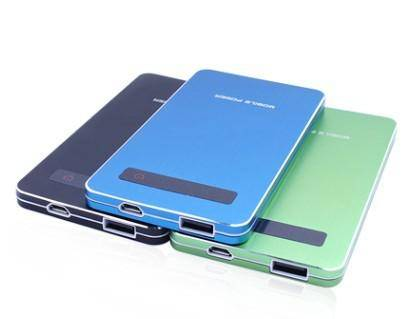Li-Polymer battery solar charger power bank for mobilephones/tablets