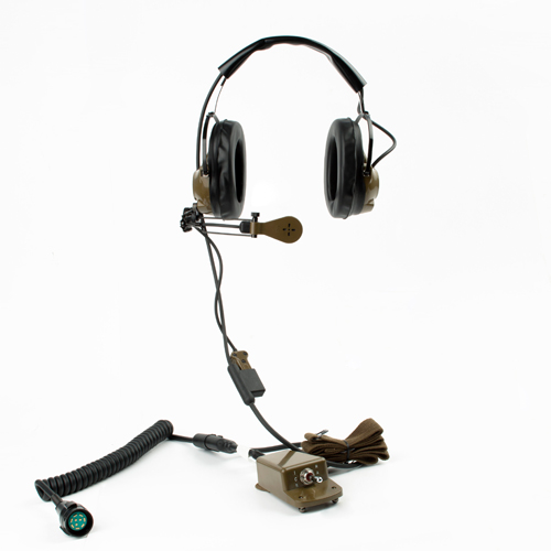 Tactical headset H-161F/GR PTE-777