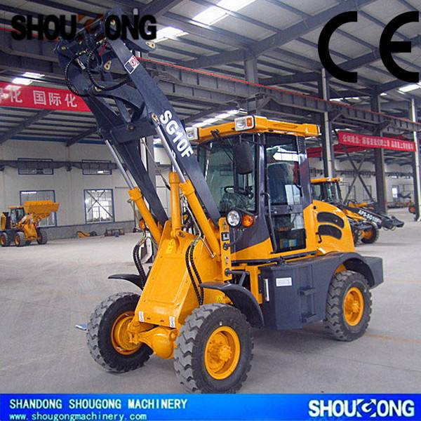 SHOUGONG SG10F Wheel Loader with CE, 1000kg