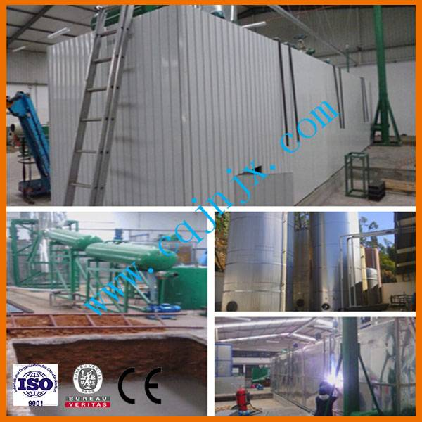 JNC-10 Waste black Oil Recycling Plant To Diesel Fuel