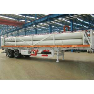 10 tubes, 20Mpa CNG tube trailers for gas refilling stations