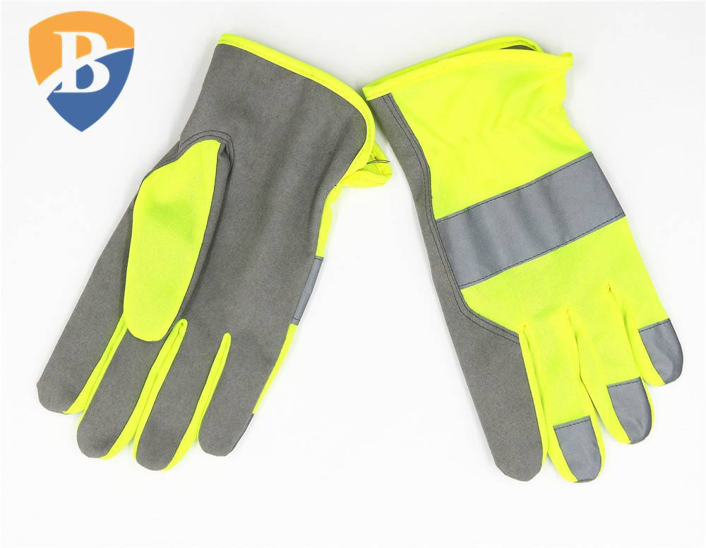 Premium Synthetic Leather safety Gloves work glove