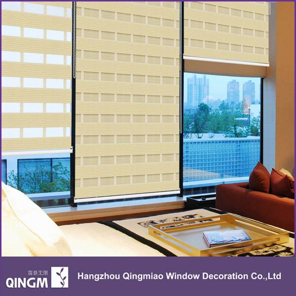 For Window Shading,QINGM Most Popular Design Zebra Window Blinds