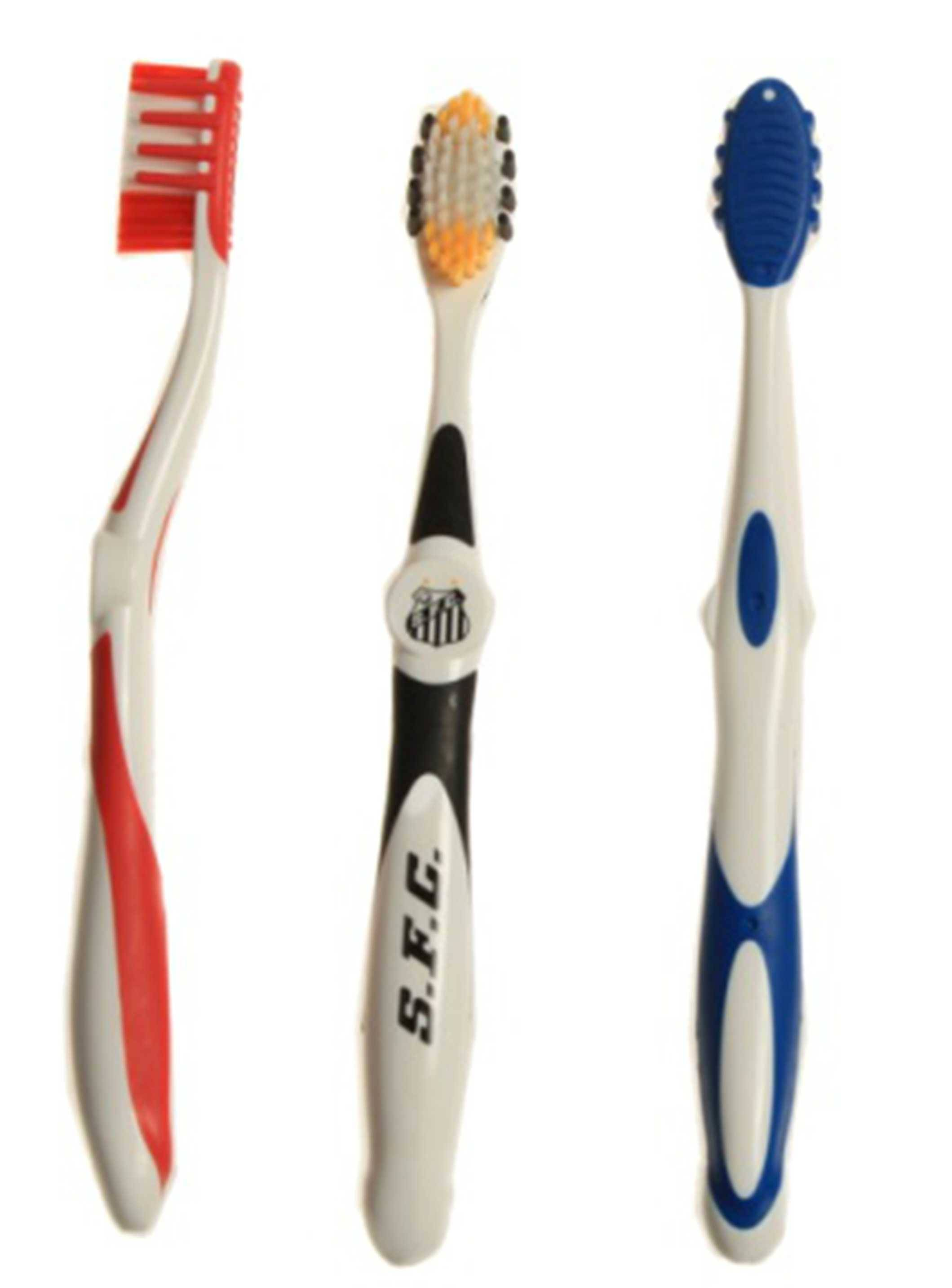 Toothbrush with Tongue Scrapper and Rubber tip massagers on head