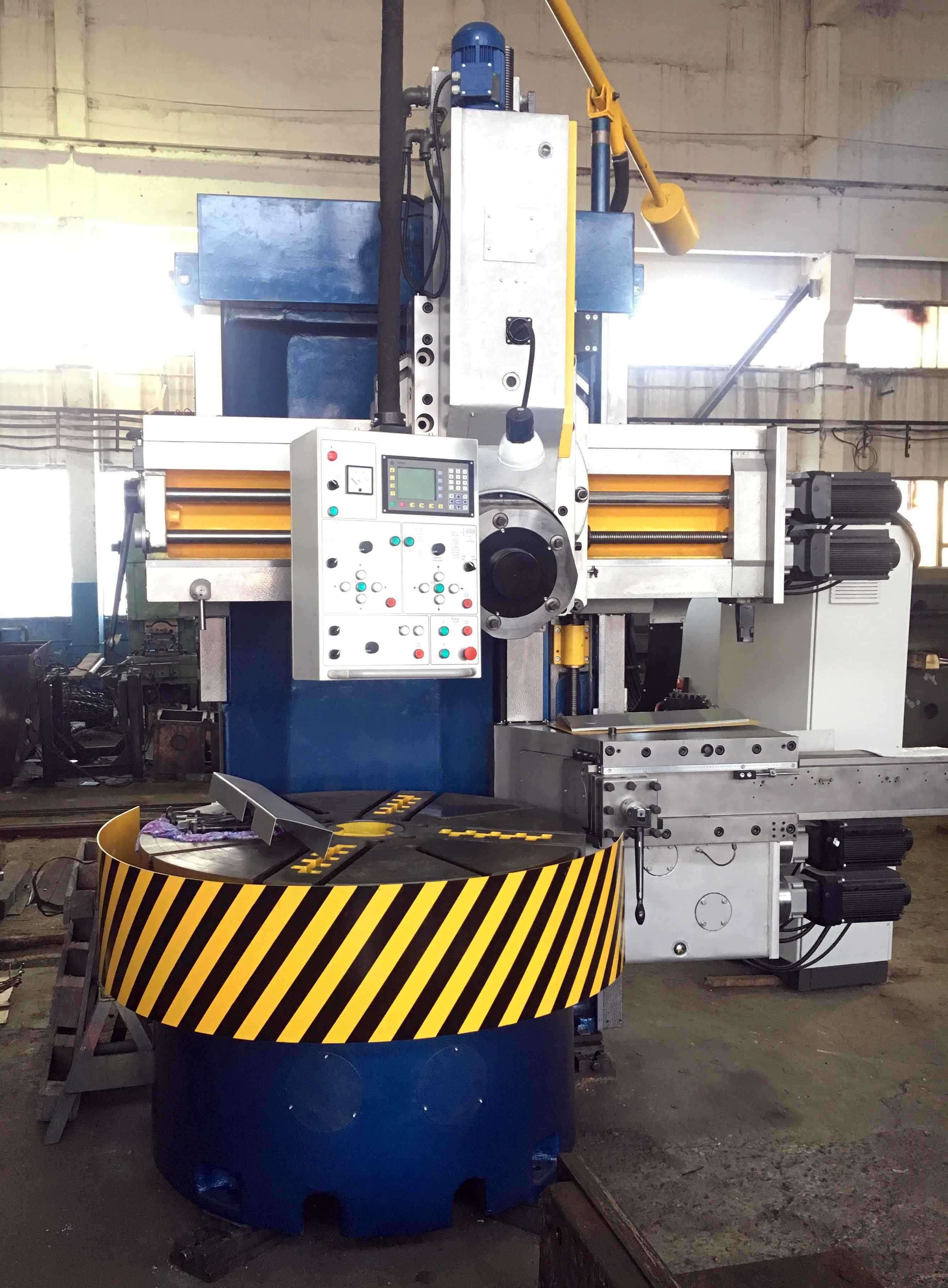 NC vertical lathe machine 1516