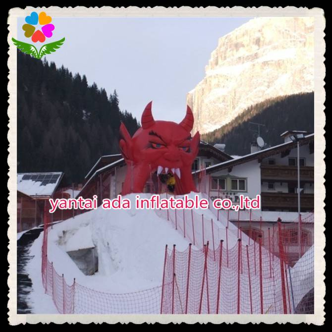 Event Inflatable Devil Tunnel
