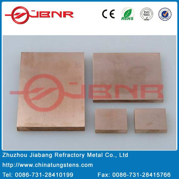 Cuw Alloy Plate for Heat Sink